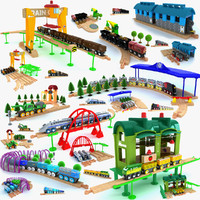 Kids train set toy collection 3