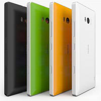 3d model nokia lumia 930 colors
