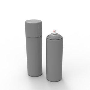 3d model spray