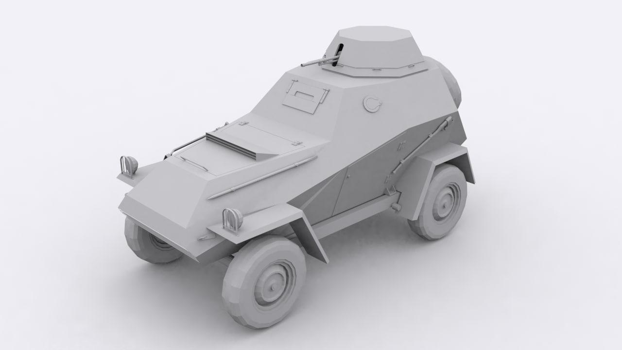 maya ba-64 armoured car
