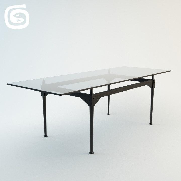 tl3 table 3d model