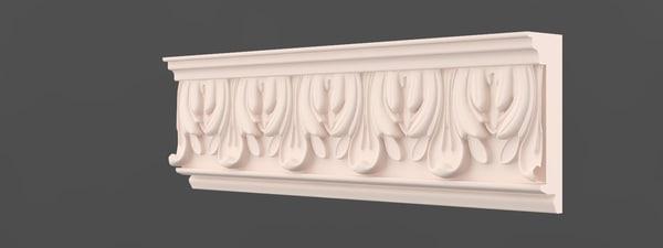 free moulding 3d model