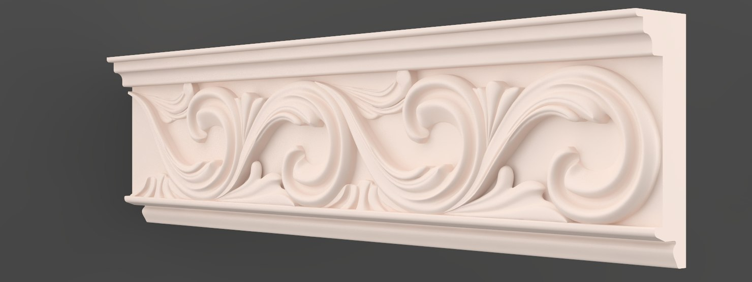 3ds max moulding