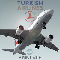 Airbus A319 Turkish Airlines