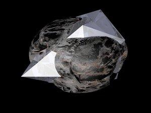 asteroids 3d c4d