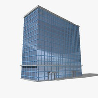 3d buildings skyscraper model