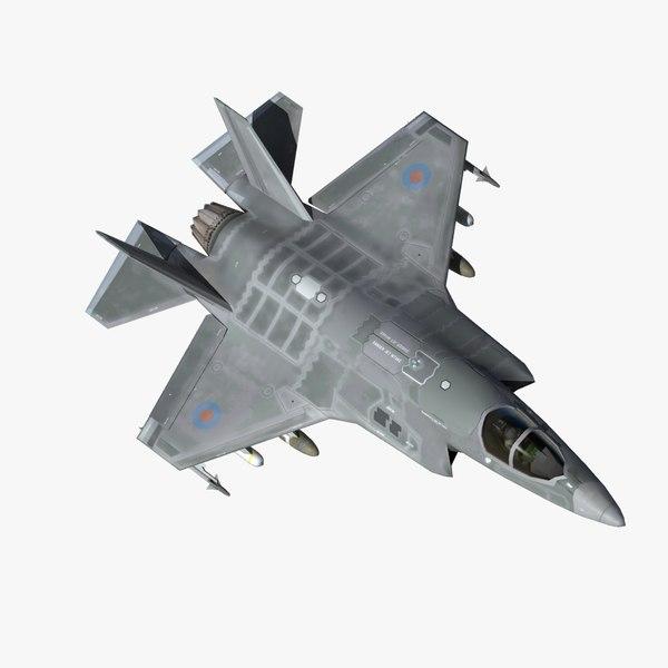 3d model f35b jsf royal