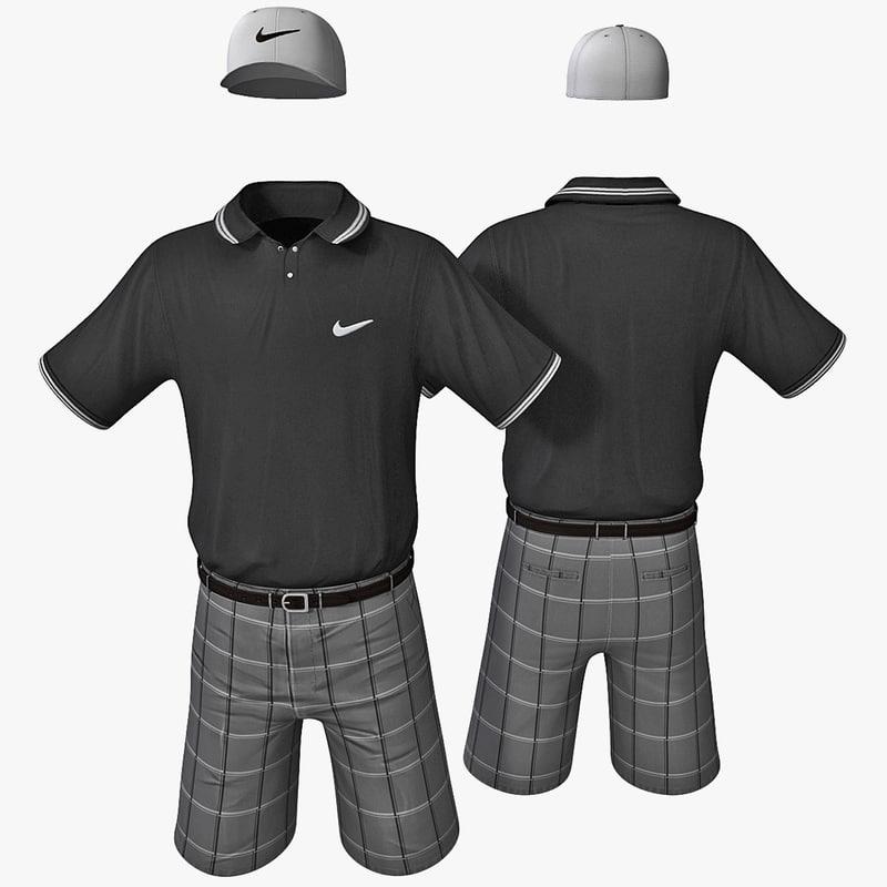 golf clothes 2 3ds