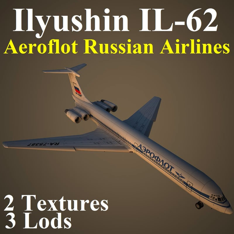 3d ilyushin afl model