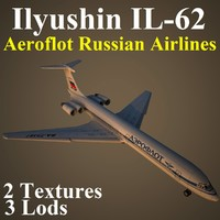 3d ilyushin afl model