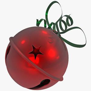jingle bells 3d model