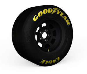 racing tire 3d 3ds