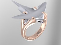 Sting Ray Ring