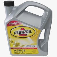 Vehicle Motor Oil Pennzoil