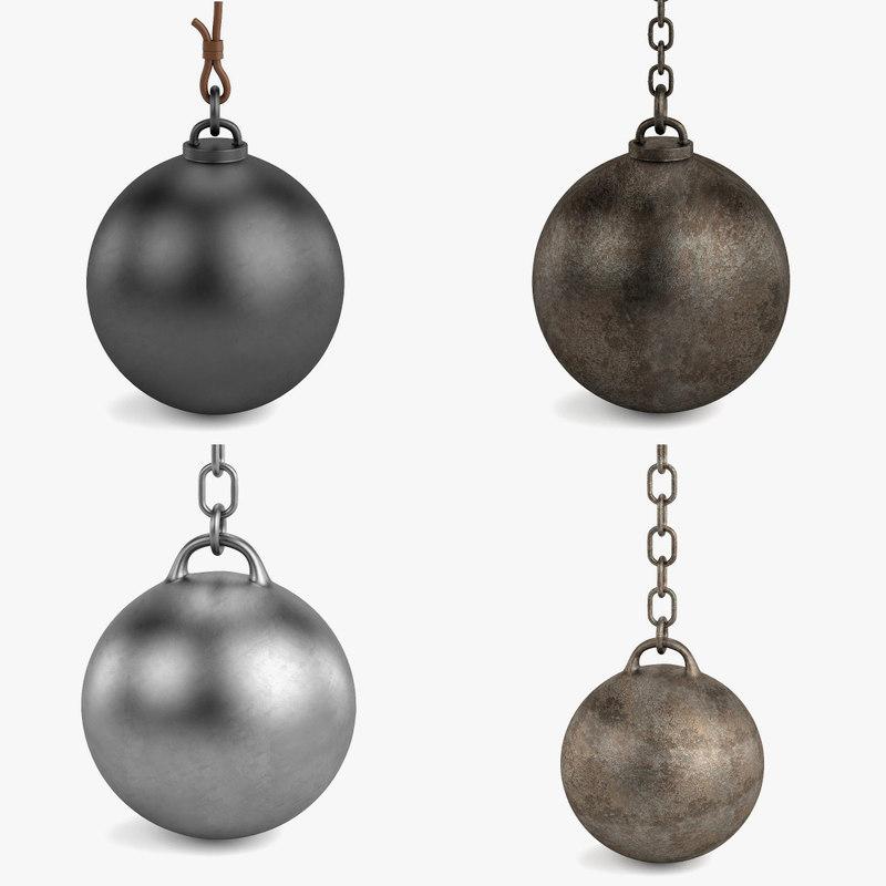 destruction balls obj