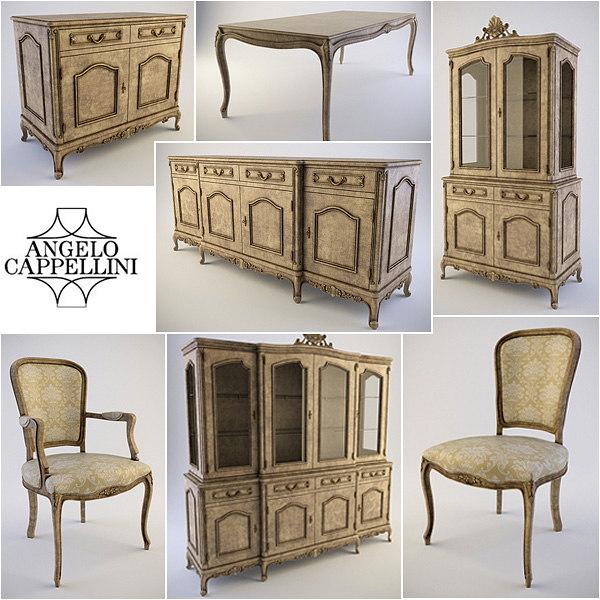 obj furniture armchair table