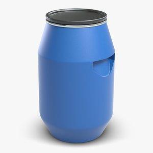 barrel water tank 3d model