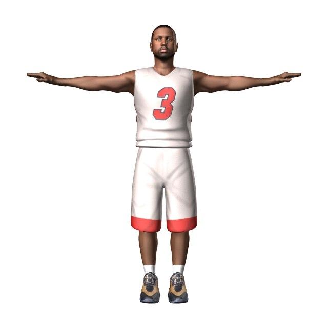 lightwave basketball player