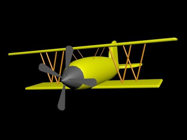 simple biplane max