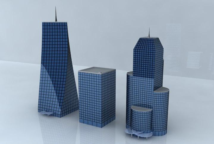3d model business centers