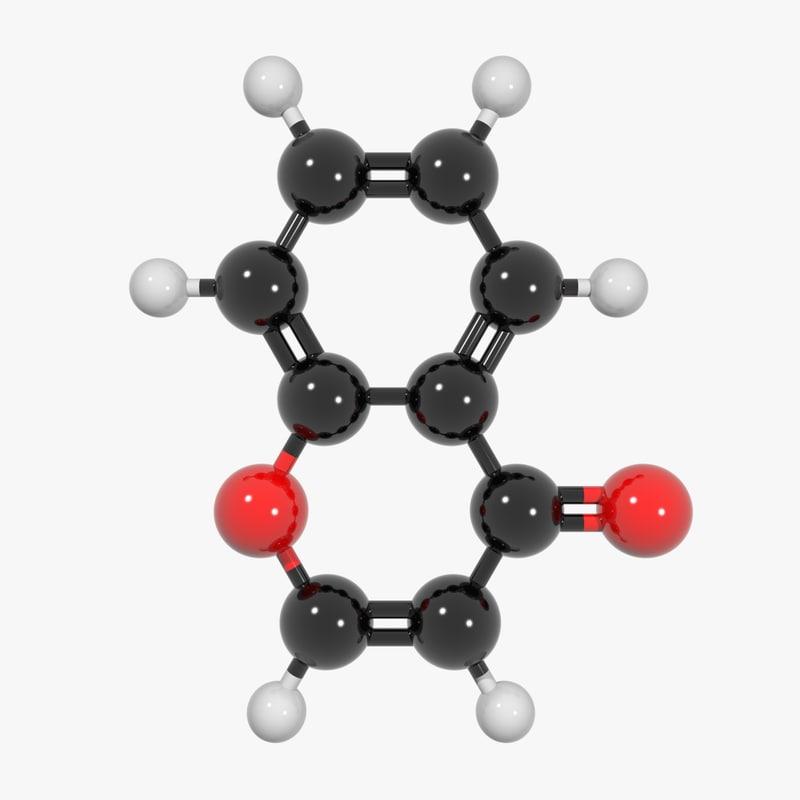3d c9h6o2 biology