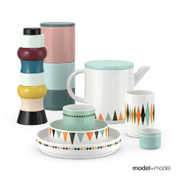 ferm living dinner set 3d max