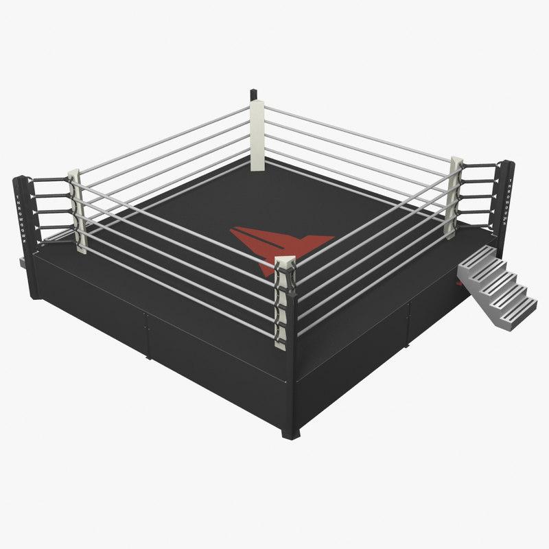 3d model of throwdown ring