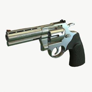 ready revolver 3d model