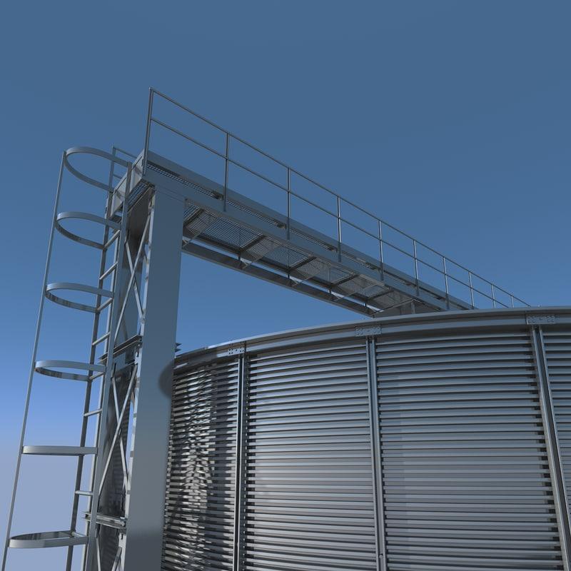 max steel grain silo -