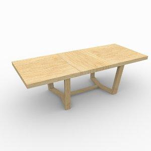 free table alf cartesio 2 3d model