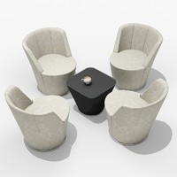 3ds max ameo chair walter