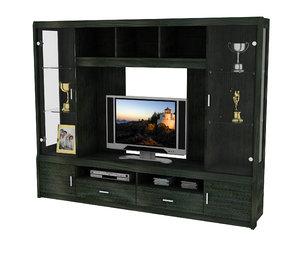 designer wall unit tv cabinet 3ds