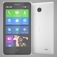 nokia x white 3d 3dm