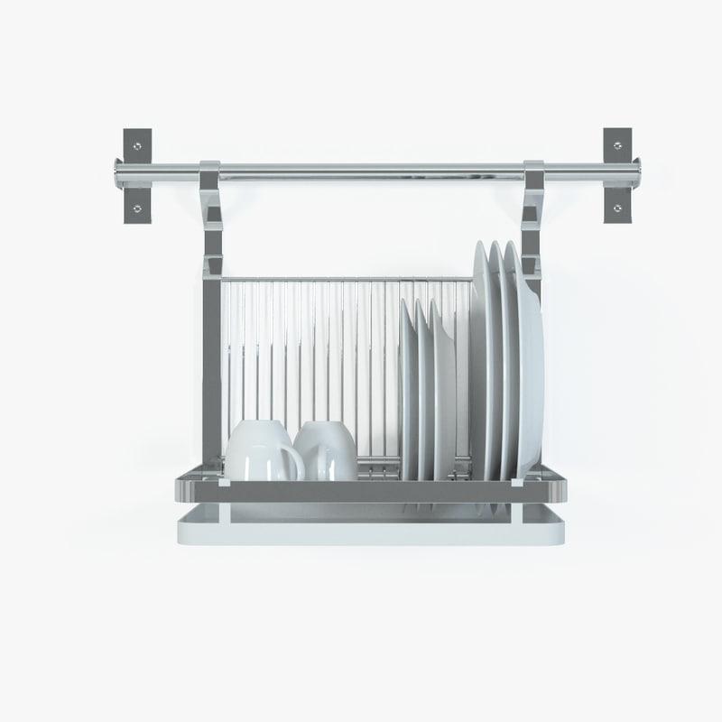 mikael grundtal dish drainer 3d model