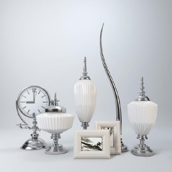 decorative vase 3d obj
