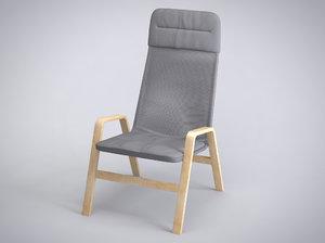 3dsmax chair nolbyn ikea
