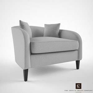 3d model sofa chair company