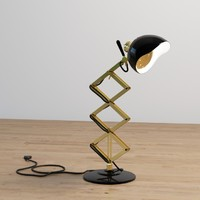 billy desk lamp 3d max