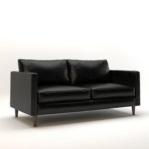 modern sofa 2 3d model