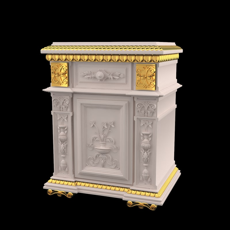 max furniture classical antiquarian style