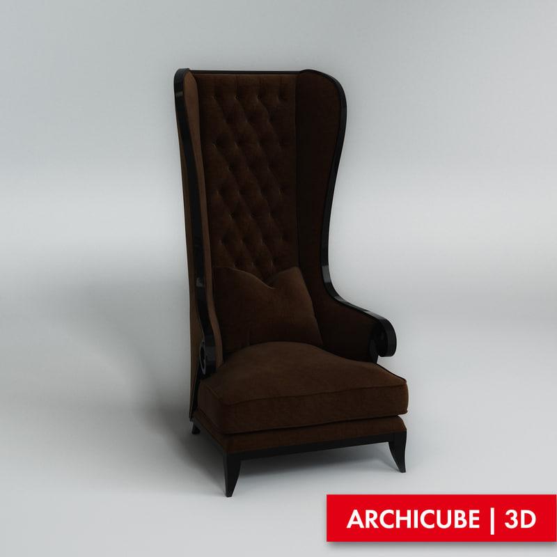 armchair fbx