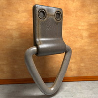 worn metal grommet loop 3d model