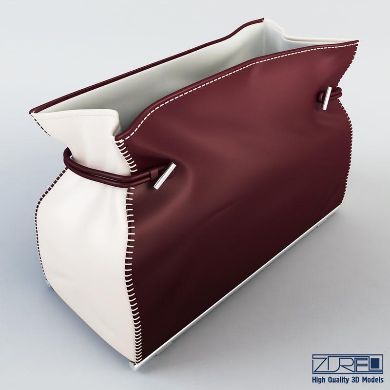 3d model charlotte bag
