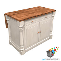 Colonial Kitchen Island