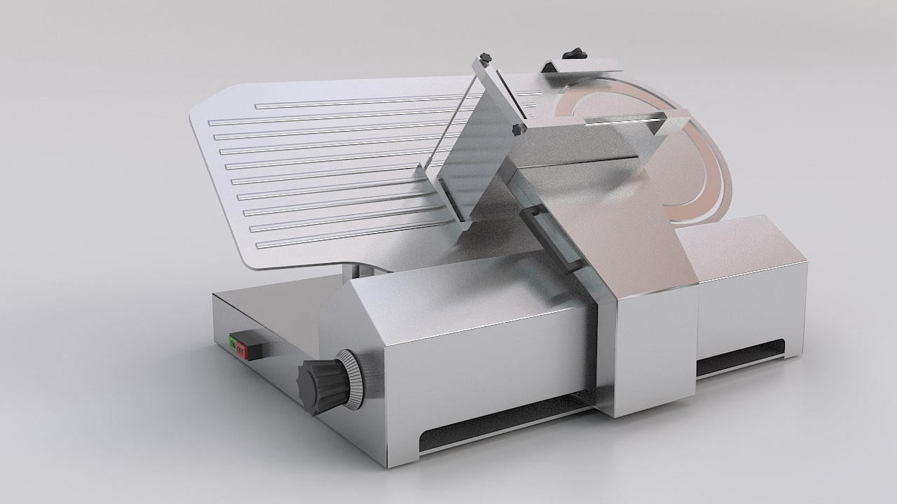 3ds max meat slicer