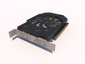 3d model nvidia graphics geforce