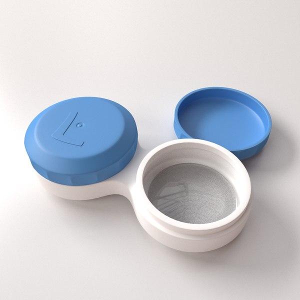 contact lense case 3ds