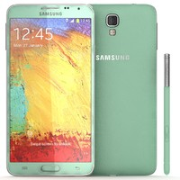 3d model samsung galaxy note 3