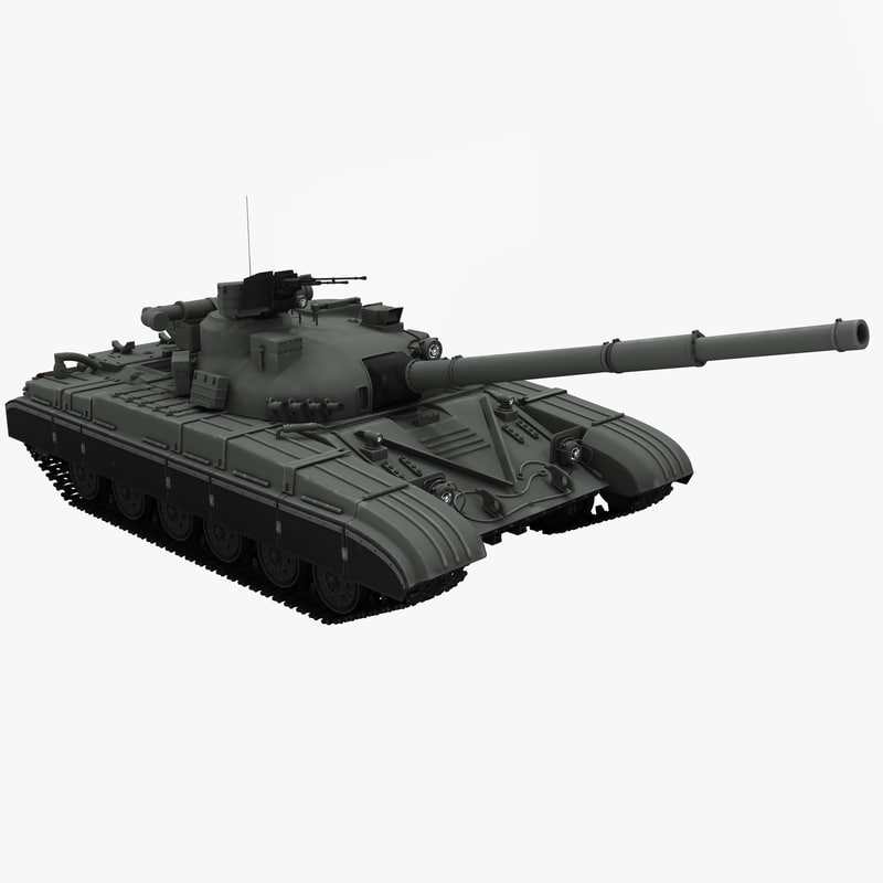 3d t64 soviet main battle tank