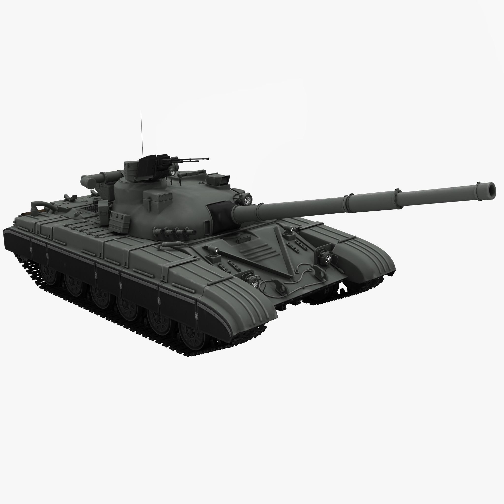 3d t64 soviet main battle tank